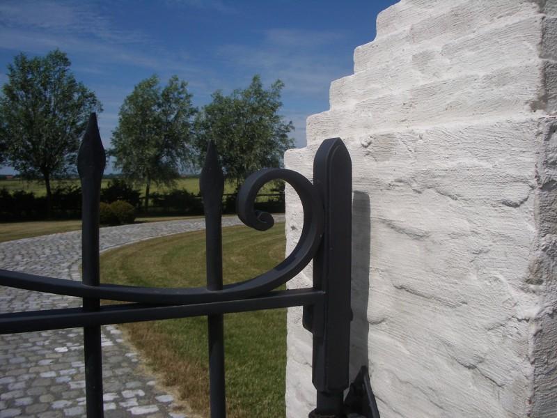 Smeedijzeren poort (H50)
