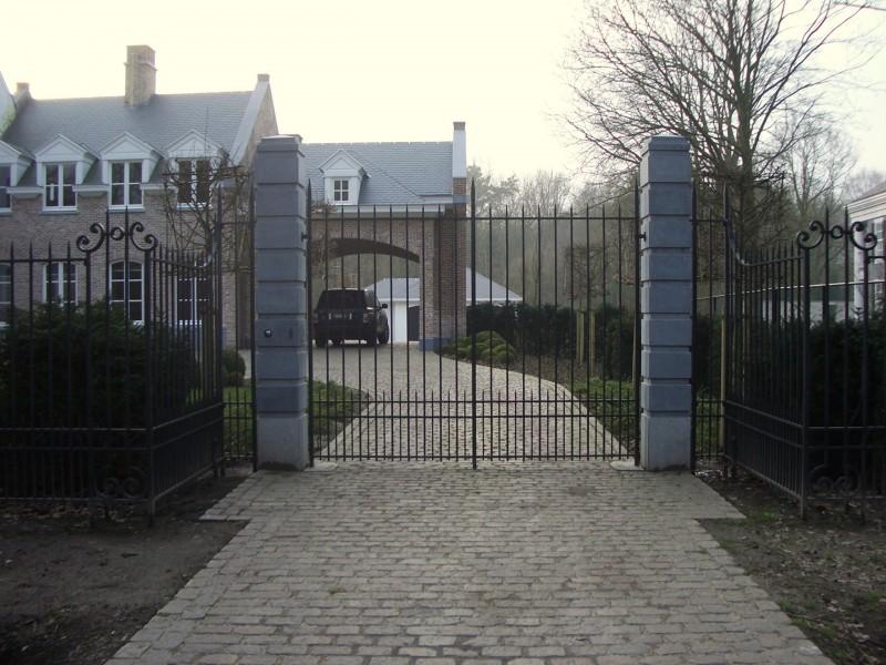 Smeedijzeren poort (H54)
