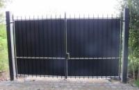 Smeedijzeren poort (H76)
