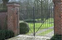 Smeedijzeren poort (H87)