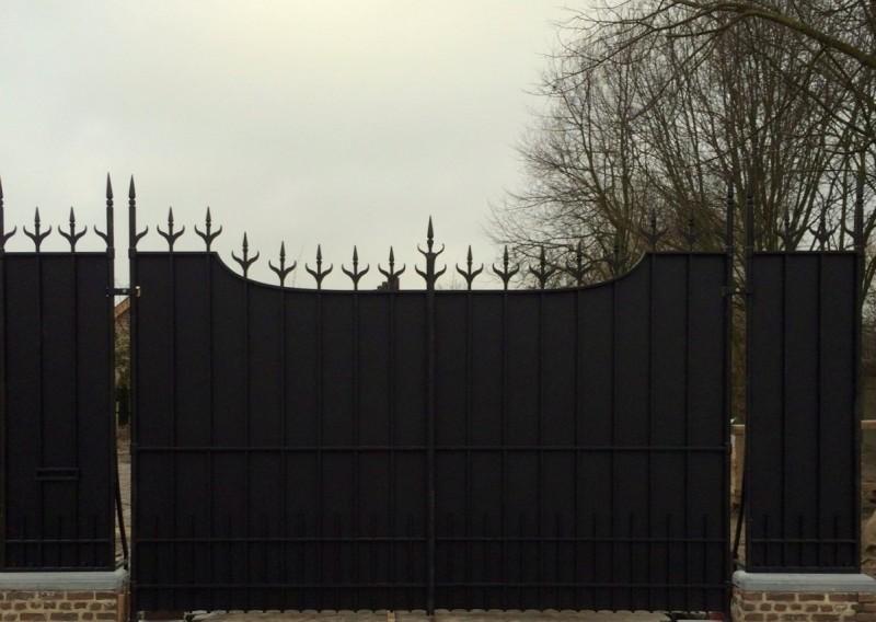Smeedijzeren poort (H97)