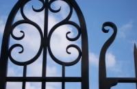 Smeedijzeren poort (H34)