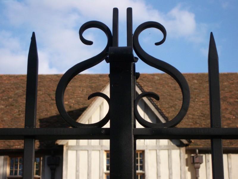 Smeedijzeren poort (H35)