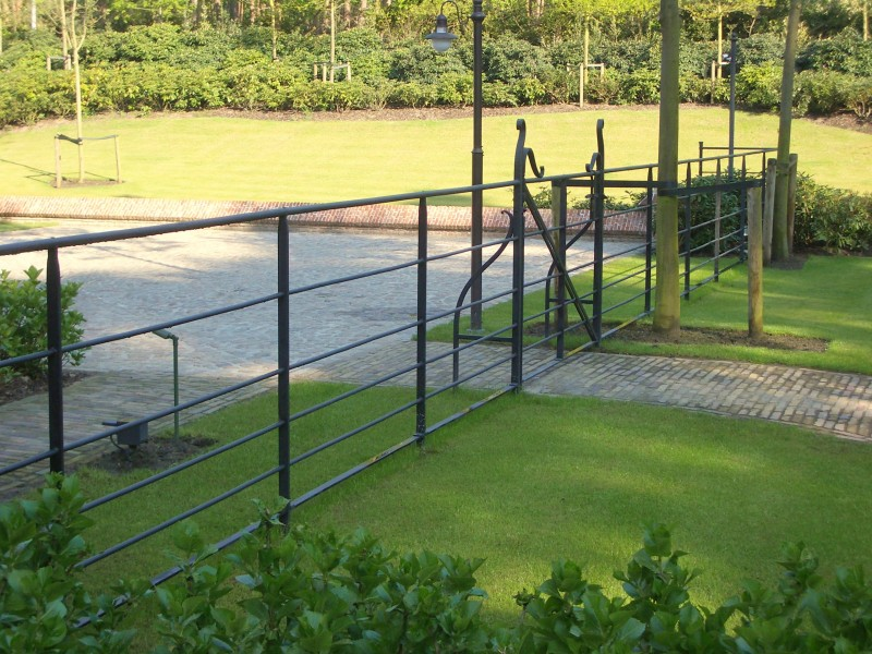 Smeedijzeren poort (H108)